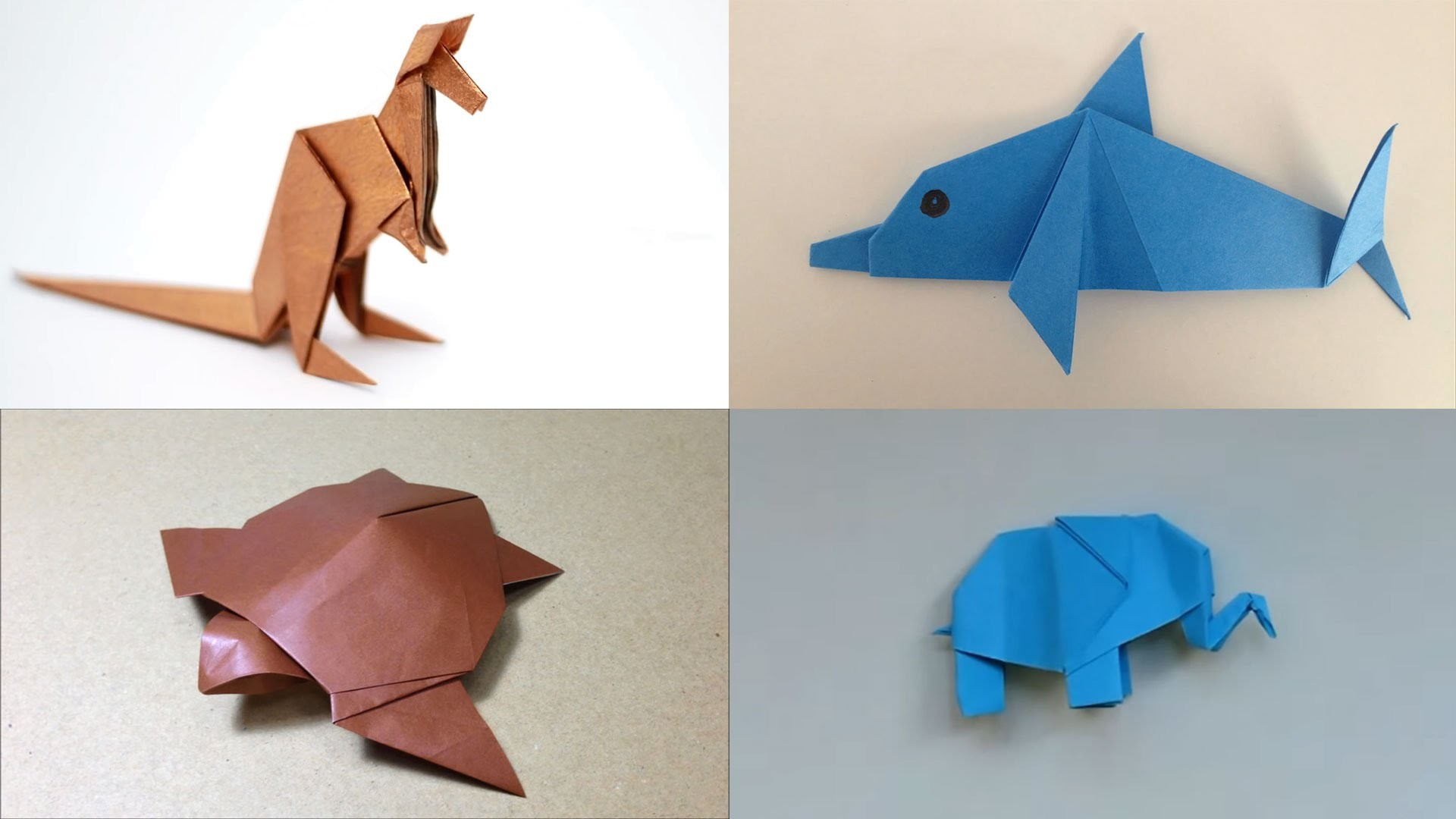Как сделать из бумаги животных не оригами 381