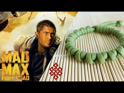 How to Make a Mad Max Prayer Bead Paracord Bracelet Tutorial