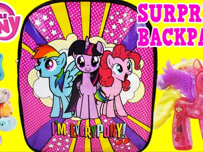 My Little Pony Surprise Backpack Rainbow Dash MLP Toys Episode Surprise Egg and Toy Collector SETC