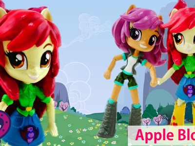 New Custom APPLE BLOOM My Little Pony Equestria Girl Minis Doll Tutorial
