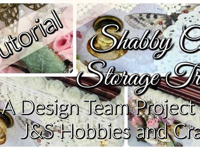 Shabby Chic Storage Box Tutorial