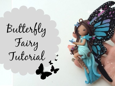TUTORIAL: Polymer Clay Butterfly Fairy ♡ Doll Chibi