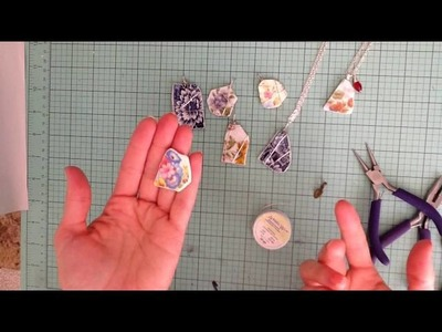 Updated Broken China Necklace Tutorial using Dremel Tool