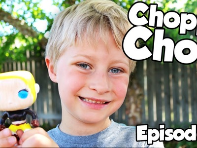 What's Inside of A Pop Character?  CHOPPY CHOP: Episode 5, DIY Pop Character by Funko