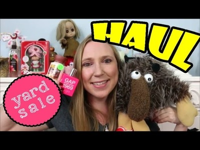 Yard Sale HAUL Vintage Toys, Beauty Products, Candles + Rainbow Brite, OPI, B&BW