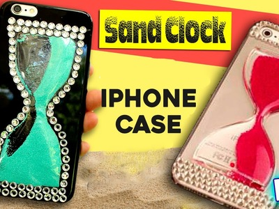 DIY phone case * SAND CLOCK inspired PHONE CASE