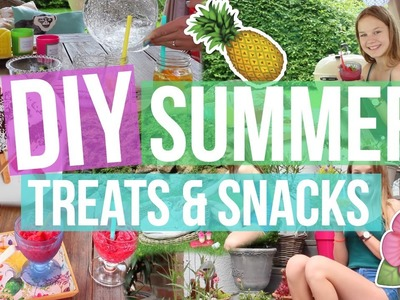 DIY SUMMER TREATS + SNACKS | YOU NEED TO TRY THIS SUMMER