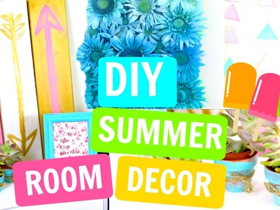 DIY Tumblr.Pintrest Inspired Room Decor for Summer! | Kristi Tu