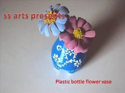 Plastic Bottle flower vase
