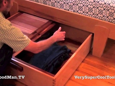 20 Platform Bed Storage Drawer • Final Video Part 2