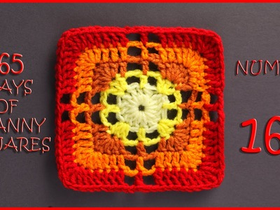 365 Days of Granny Squares Number 163