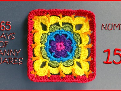 365 Days of Granny Squares Number 156