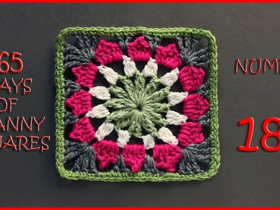 365 Days of Granny Squares Number 182