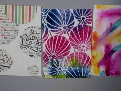 5 Ways to Jump Start Art Journal Pages