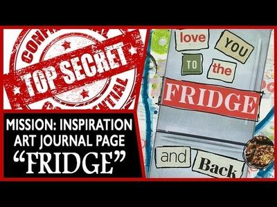 Art Journal Page - Mission Inspiration - Fridge