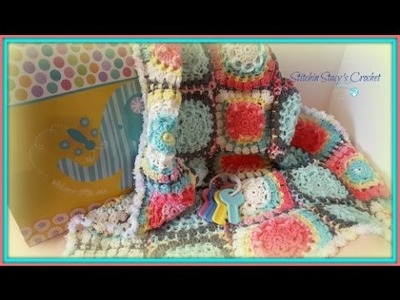 """""""Circle of Life Baby Blanket""""-(Motif Only)"""