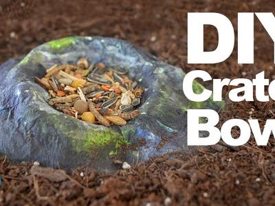DIY Crater Food Bowl