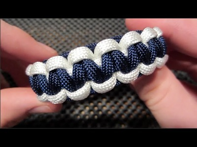 Easy Two-Tone Paracord Bracelet Tutorial