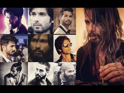 Get Shahid Kapoor's Hairstyle | Check out his 'hair-raising' styles | Fashion Scrapbook