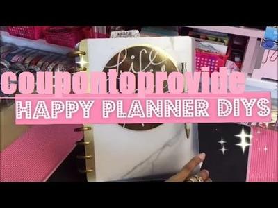 Happy Planner Set Up and Dollar Tree DIYs | No Laminating Solution!