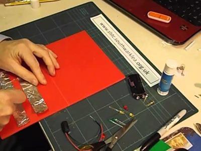 How to make a LED Christmas card