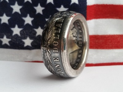 How to Make Silver Morgan Dollar Coin Rings - New Tips and Tricks!
