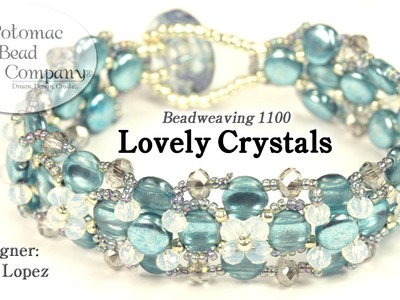 """ Lovely Crystals "" Bracelet (Tutorial)"