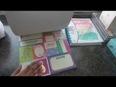 Michaels Haul Happy Planner Preview $5 Scrapbooking Pads Clearance Items