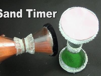 Recycled Plastic Bottle Sand Timer | Best Out Of Waste | JK Arts 965