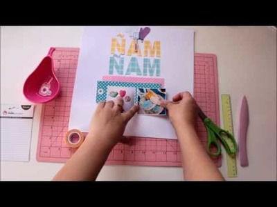 Vídeo: Scrapbooking Layout Ideas | Layout scrapbook interactivo
