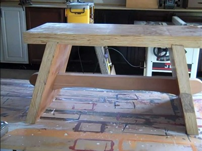 Wood Bench Part 2 of 2