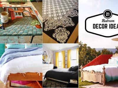 21 Cheap bedroom upgrade & decor ideas