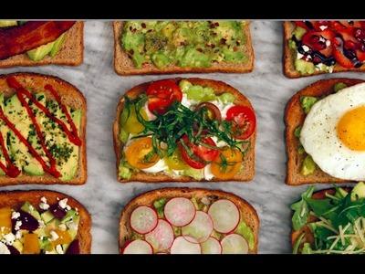 9 Avocado Toast Recipes You Need Now