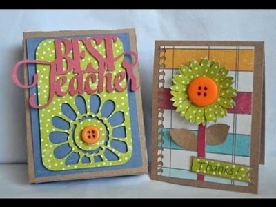 BEST TEACHER'S DAY 2016 -  craft ideas, greeting cards, appreciation cards, thank you cards