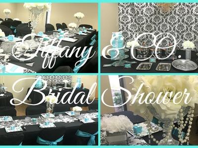 Bridal Shower ~ Tiffany & Co. Theme | Breakfast At Tiffany's