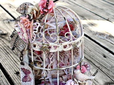 Butterfly Birdcage with Miranda Edney on Live with Prima