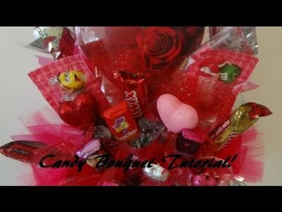 Candy Bouquet Tutorial! Inexpensive, Quick, Cute & Any Theme!