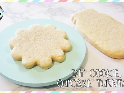 COOKIE TURNTABLE, CUPCAKE TURNTABLE, DIY TURNTABLE - SUGARCODER