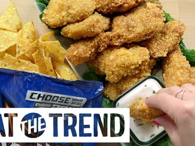 Cool Ranch Doritos Chicken Tenders Recipe | Eat the Trend