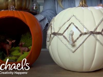 Craft Pumpkin Ideas   Michaels