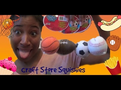 Craft Store Squishies| Smooshers & Crushballs |CAKEY