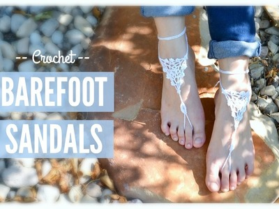 Crochet Barefoot Sandals! | Ms. Craft Nerd