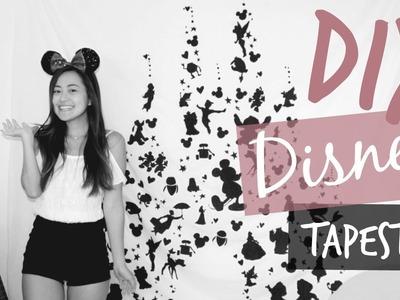 Disney Castle Tapestry || DIY
