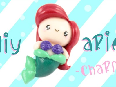 ♡ DIY Ariel Charm in Polymer Clay! ♡  | Kawaii Friday