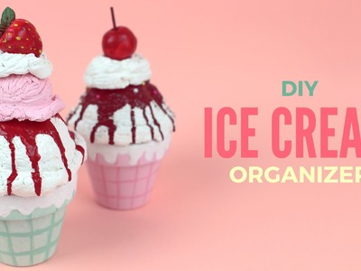 DIY: Clay Ice Cream Organizers. Boxes | Cutify DIY #1