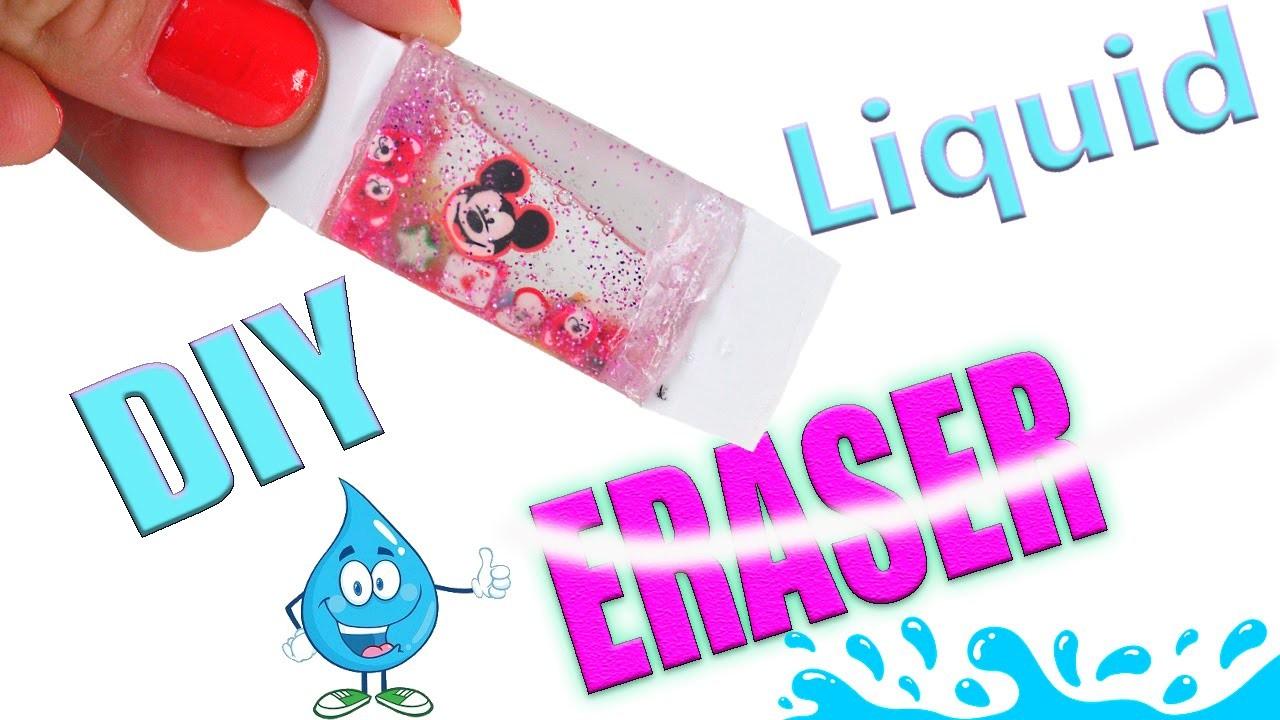 DIY Craft: DIY LIQUID ERASER | Tic Tac ERASER