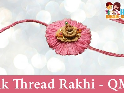 "DIY Craft Ideas-How to make Silk Thread. Resham Dhaga ""Rakhi"" for Raksha Bandhan"