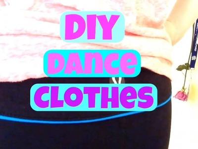 DIY dancer clothes  DIY clothes for dancers 