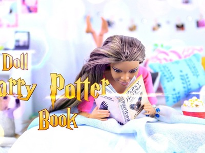 DIY - How to Make: Doll HARRY POTTER Book - EASY - Handmade - 4K