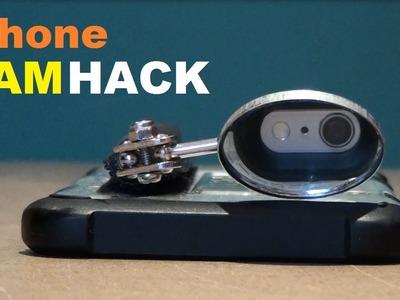 DIY Iphone spy Camera and flashlight Lifehack